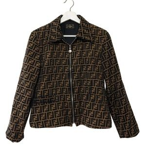 14e5633f Women Fendi Vintage Jacket on Poshmark